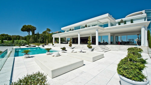 Luxury holiday rentals villa Marbella