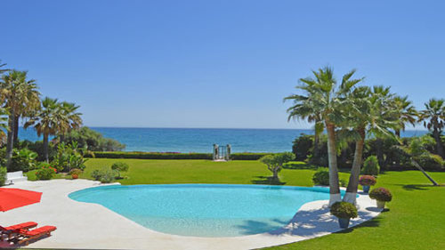 Holiday Villa beachside Marbella